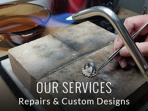 Custom Silver Jewelry Services in Denver CO