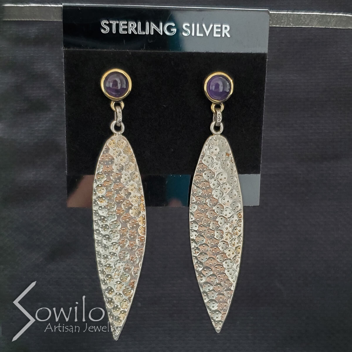 Gallery - Square - Sowilo Artisan Jewelry - Earrings - 2